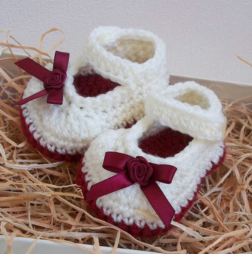 Inspirational Baby Girls Crochet Knitted Mary Jane Booties Handmade Crochet Baby Gift Of Innovative 49 Models Crochet Baby Gift