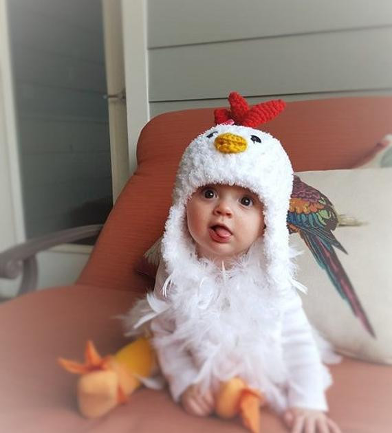 Inspirational Baby Hat Chicken Hat Baby Hat Baby Chicken Hat Baby Chicken Hat Of Lovely Chicken Hat Crochet Pattern Baby Chicken Hat