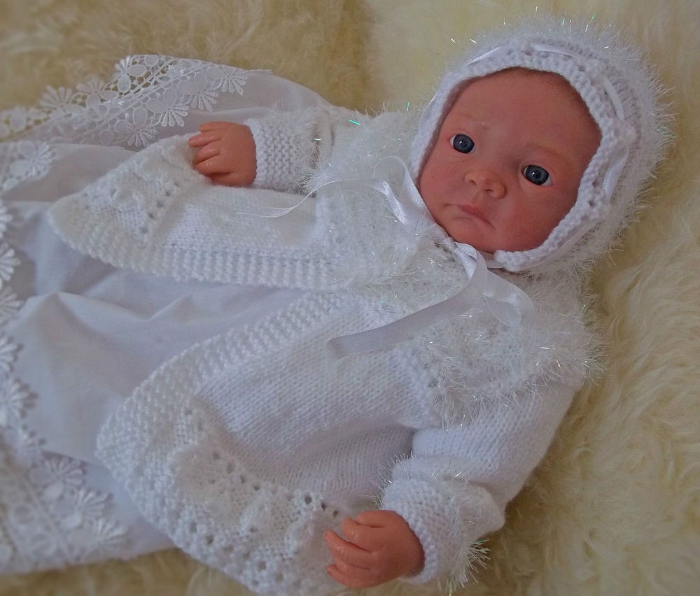 Inspirational Baby Knitting Pattern to Knit Girls or Reborn Dolls Knitted Baby Bonnet Of Top 47 Pics Knitted Baby Bonnet