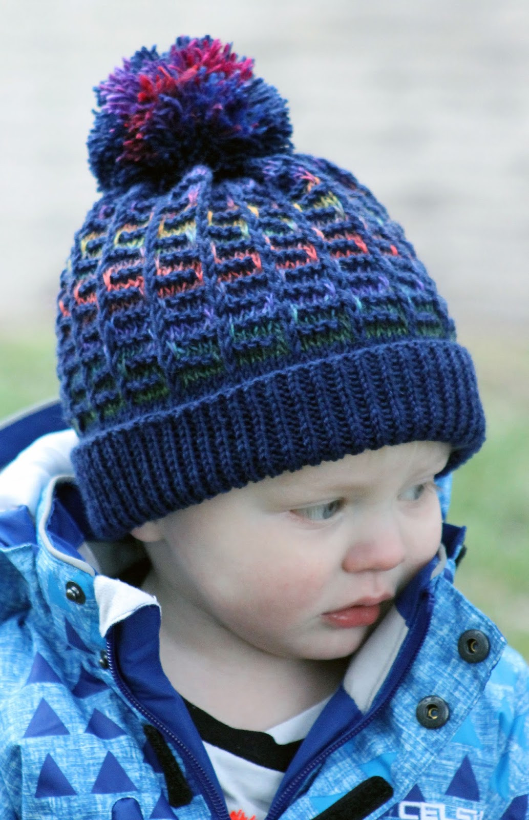 Inspirational Balls to the Walls Knits Rainbow Maze Hat Knitted Hats for toddlers Of Attractive 49 Images Knitted Hats for toddlers