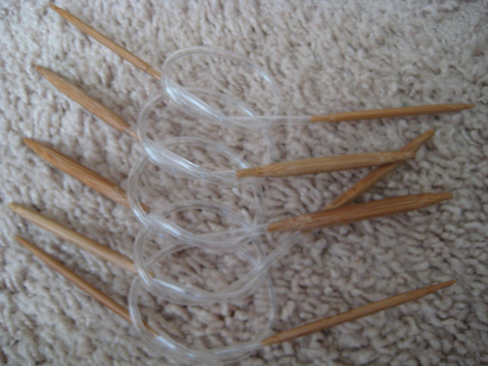 "Inspirational Bamboo Circular Knitting Needles Us7 10 5 Length 12"" Round Knitting Needles Of Amazing 50 Pics Round Knitting Needles"
