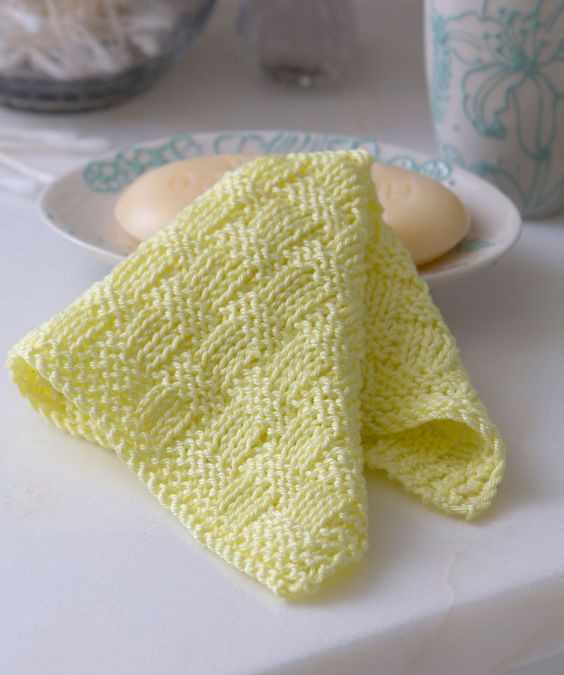 Inspirational Basketweave Washcloth Free Knitting Pattern From Red Heart Red Heart Free Knitting Patterns Of Unique 34 Models Red Heart Free Knitting Patterns