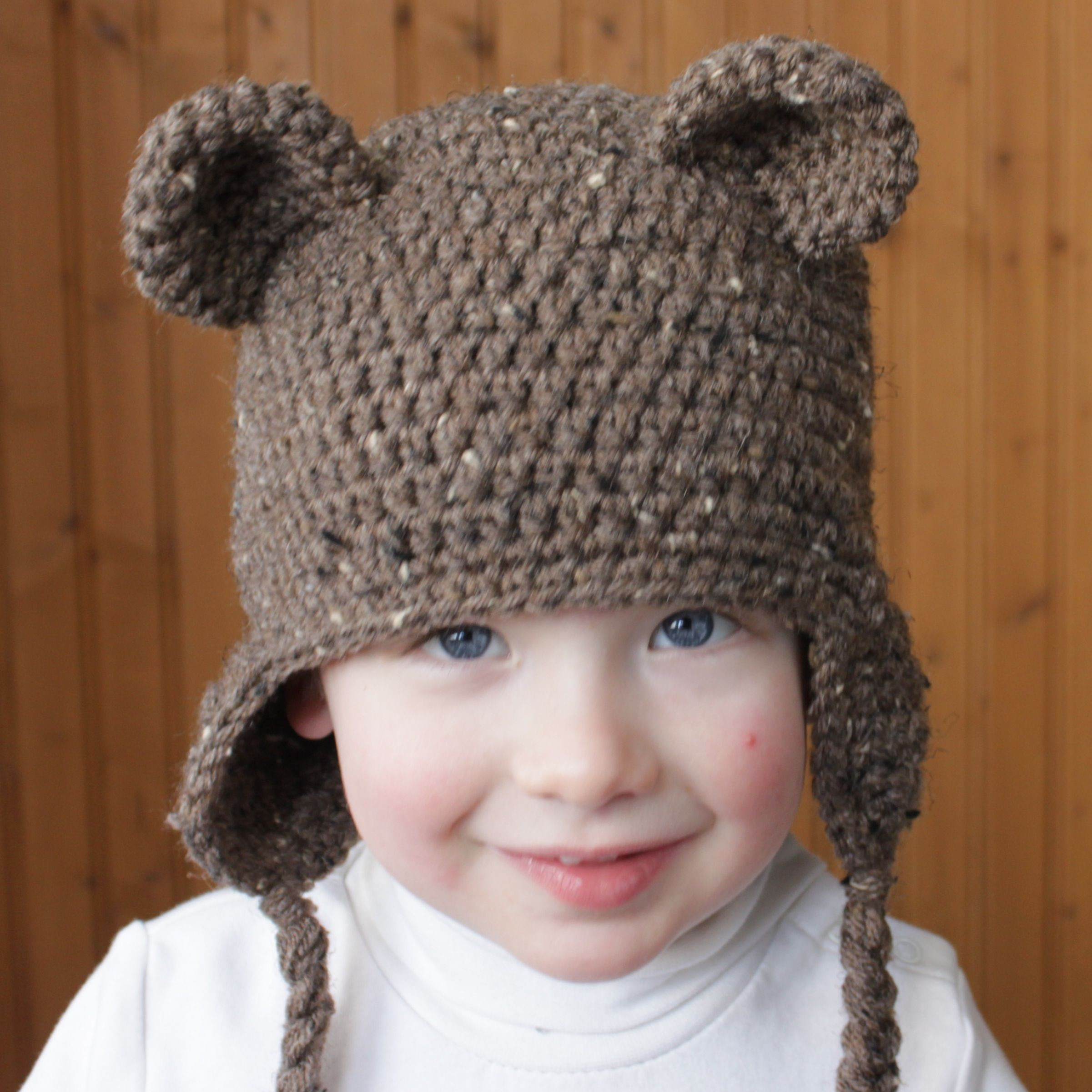 bear hat ear pattern So I think I will just have a hat