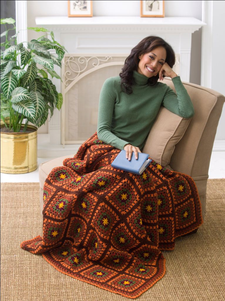 Inspirational Beautiful Autumn Throw Red Heart Free Crochet Afghan Patterns Of Great 49 Ideas Red Heart Free Crochet Afghan Patterns
