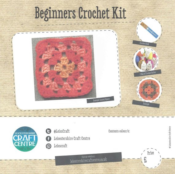 Inspirational Beginners Crochet Kit From Leicscraftcentre On Etsy Studio Beginners Crochet Kit Of Amazing 49 Photos Beginners Crochet Kit