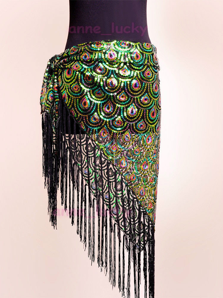 Inspirational Belly Dance Peacock Hip Scarf Belt Sequins Tribal Fringe Peacock Shawl Of Charming 44 Pictures Peacock Shawl