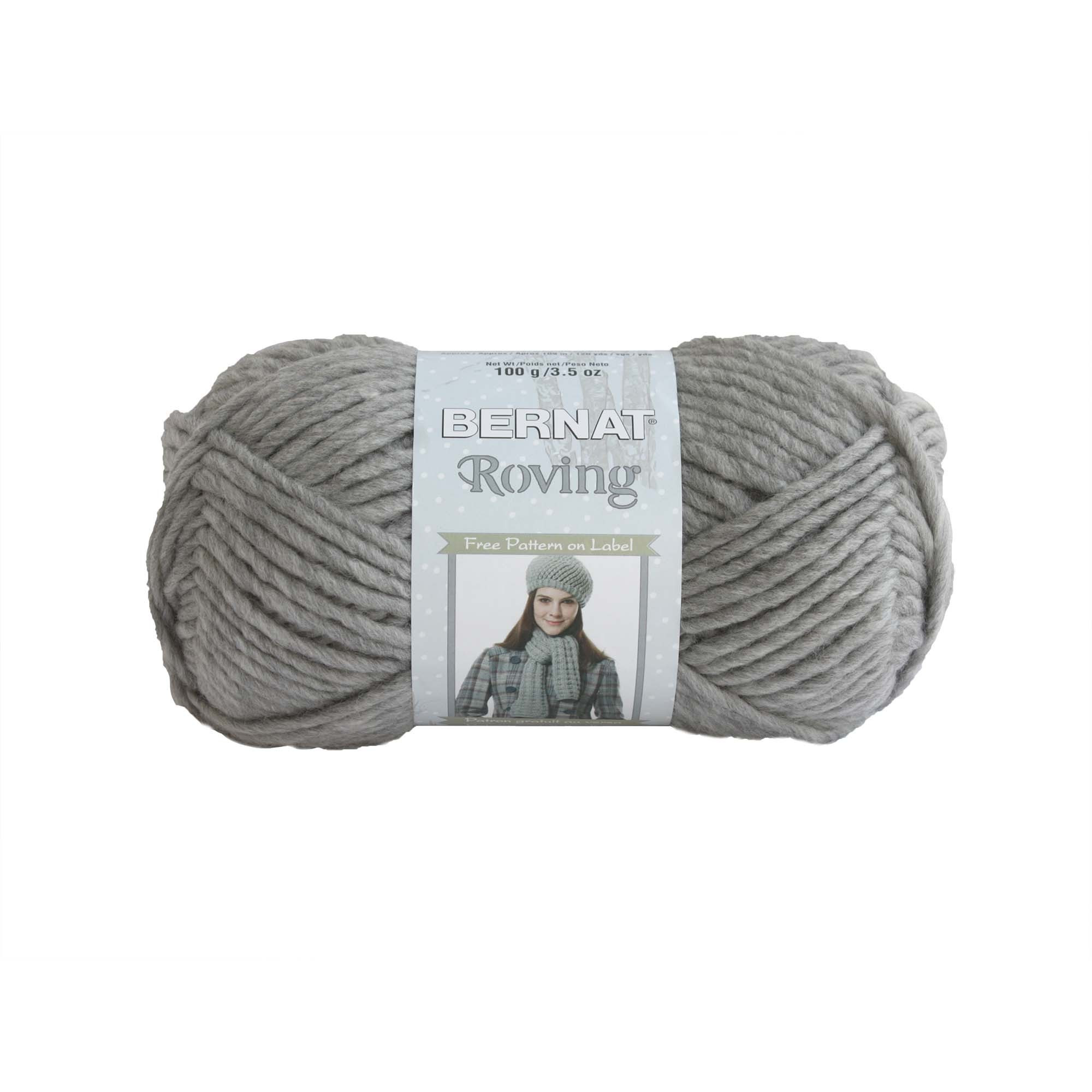 Bernat Roving Knitting Yarn 100g
