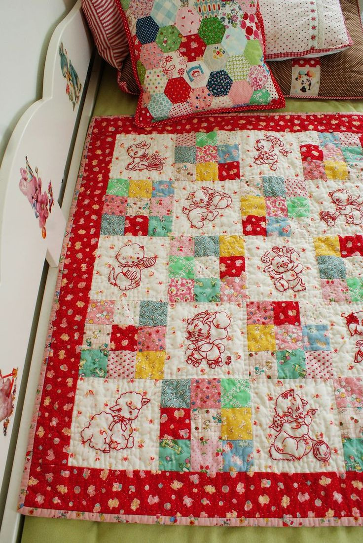 Inspirational Best 25 Embroidered Quilts Ideas On Pinterest Embroidery Quilt Patterns Of Contemporary 50 Pictures Embroidery Quilt Patterns