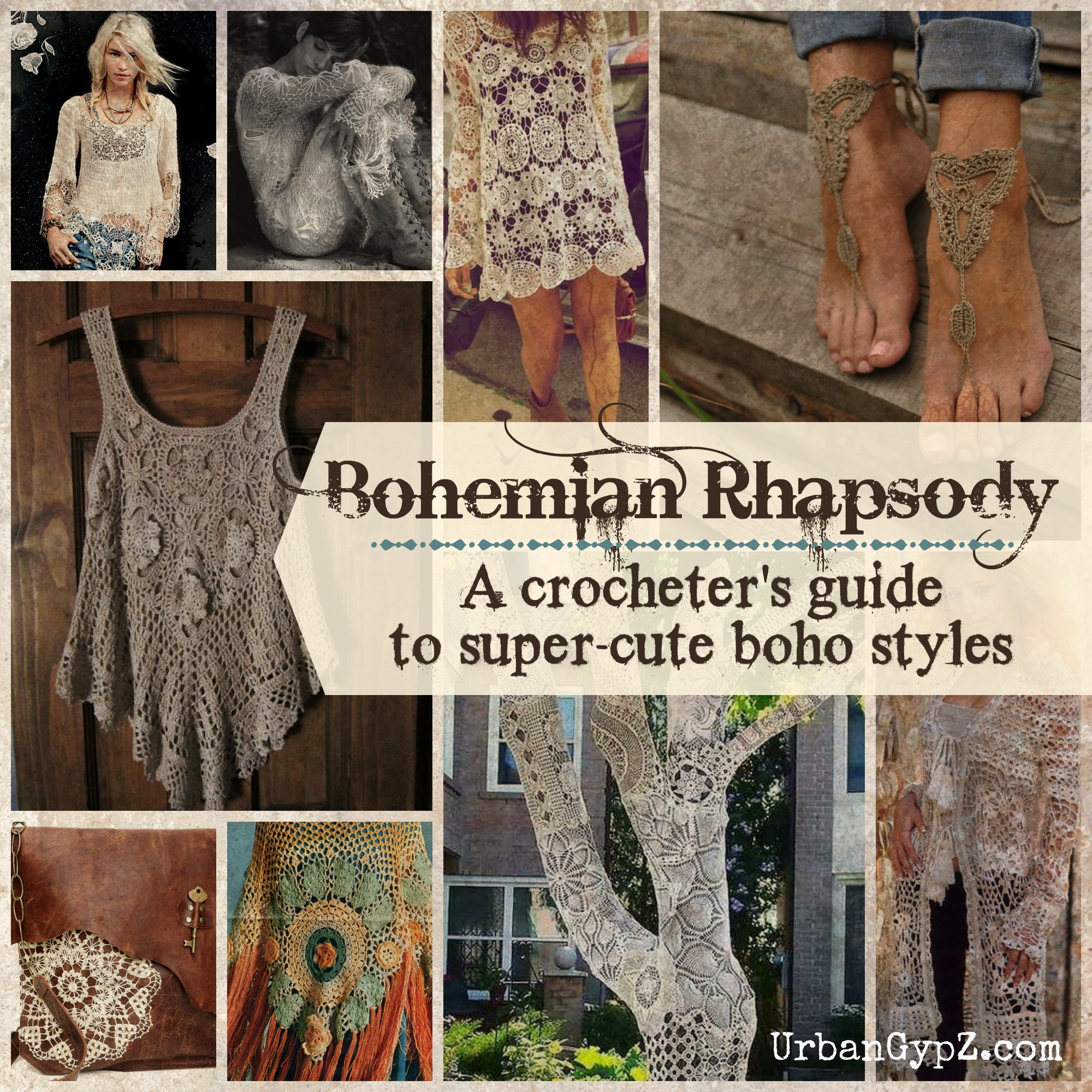 Bohemian Rhapsody A guide to boho crochet patterns