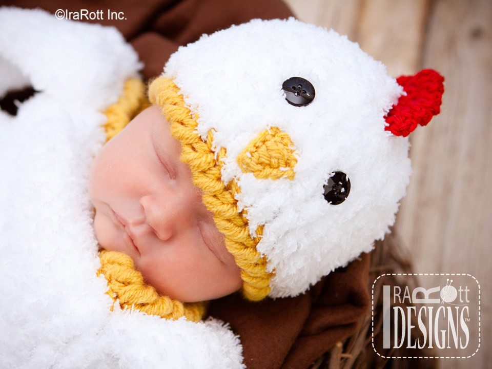 Inspirational Bok Bok Easter Chicken Baby Hat and Cocoon Set Pdf Crochet Baby Chicken Hat Of Awesome Cute Baby Chickens with Hats Baby Chicken Hat