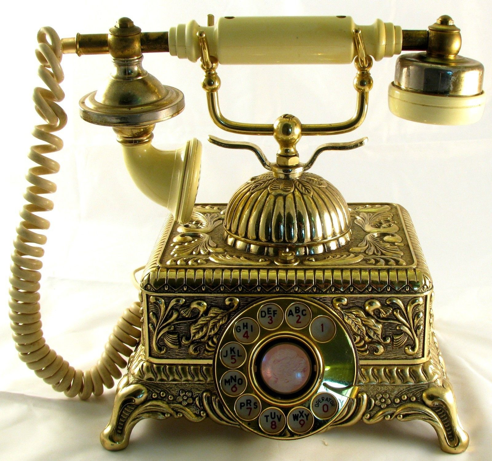 Inspirational Brass Vintage Rotary Telephone French Style Victorian Old Antique Phones Of Gorgeous 41 Photos Old Antique Phones