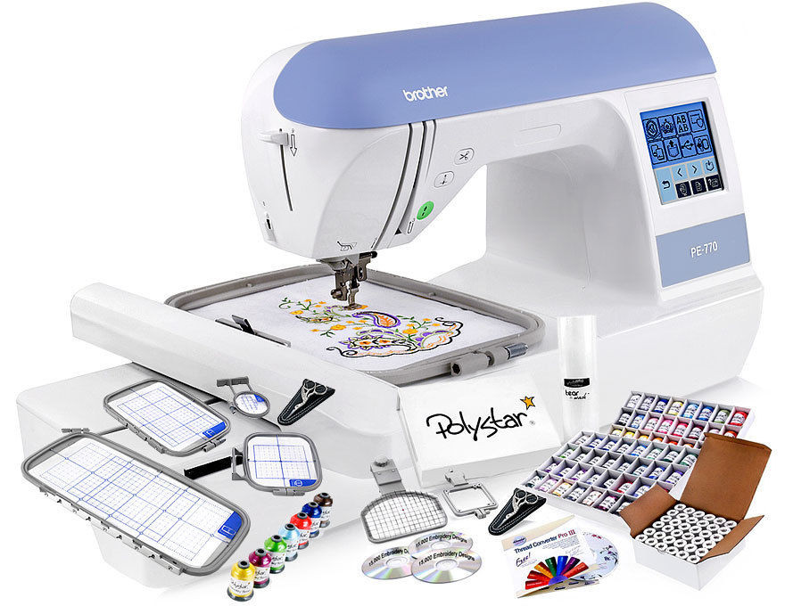 Inspirational Brother Pe770 Embroidery Machine W Grand Slam Embroidery Embroidery Only Machines Of Perfect 49 Pics Embroidery Only Machines