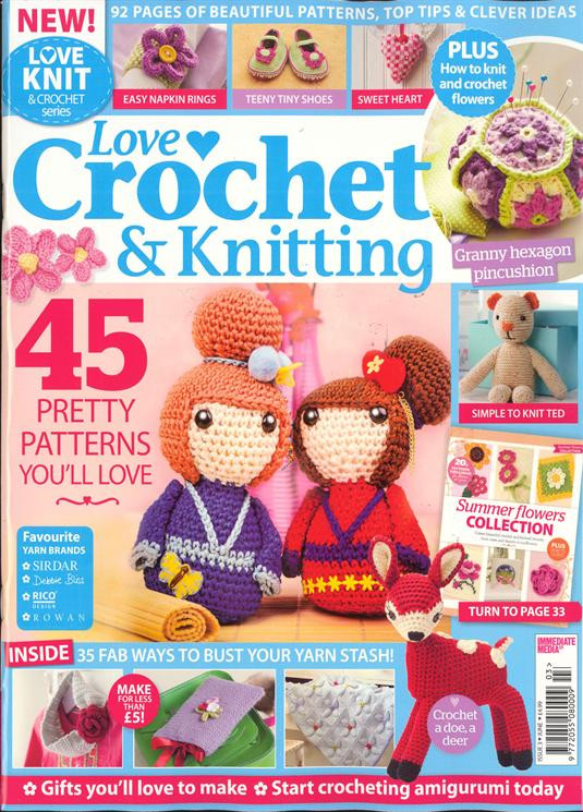 Inspirational Buy Single Magazine issues and Subscriptions Newsstand Love Crochet Magazine Of Wonderful 48 Pictures Love Crochet Magazine