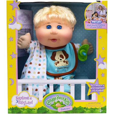 Inspirational Cabbage Patch Kids Naptime Babies Doll Blonde Hair Blue Baby Cabbage Patch Doll Of Great 47 Photos Baby Cabbage Patch Doll