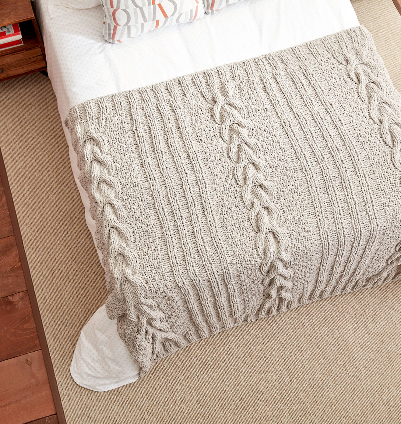 Inspirational Cable Afghan Knitting Patterns Cable Blanket Of Contemporary 40 Ideas Cable Blanket