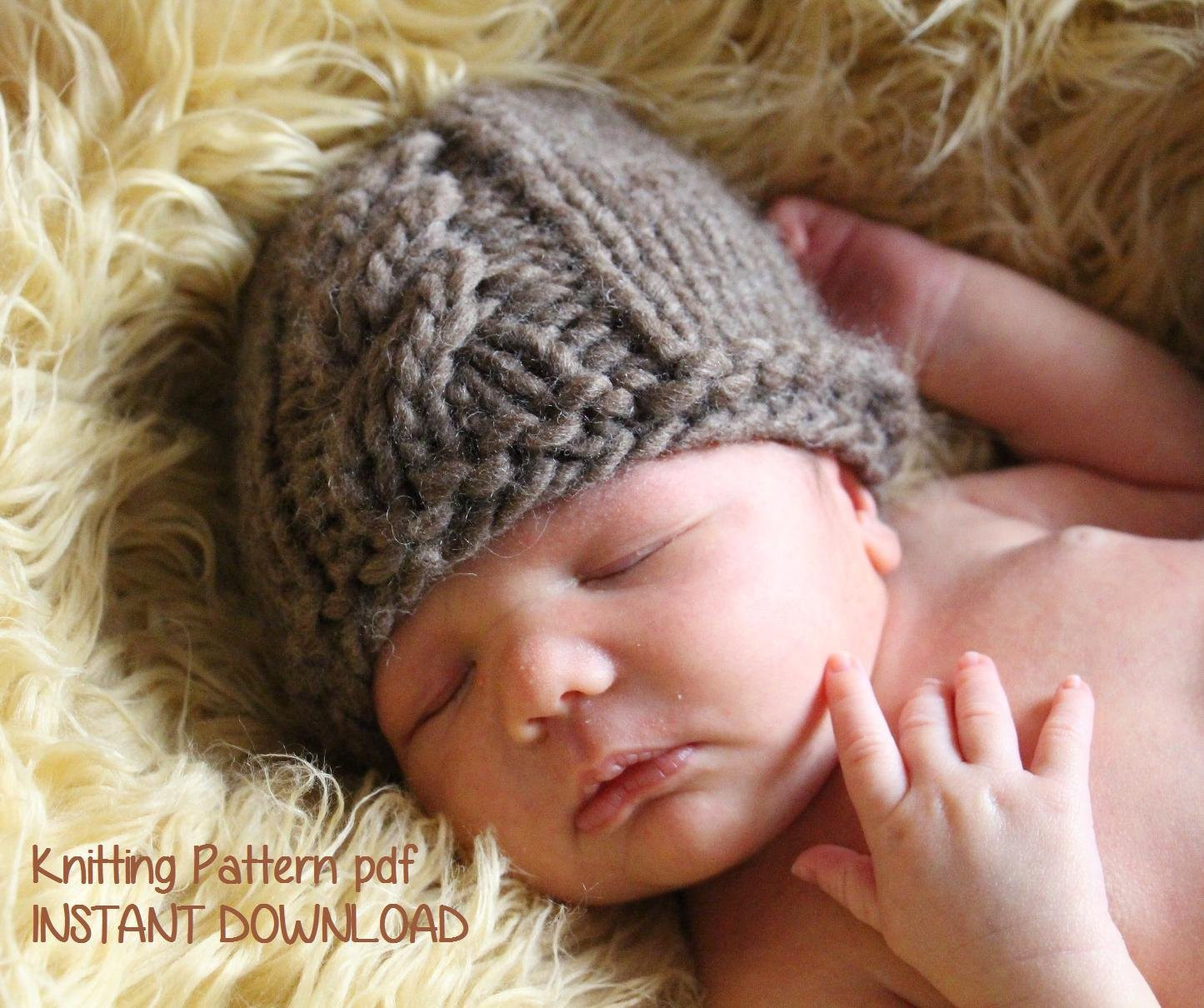 Inspirational Cable Front Chunky Newborn Baby Beanie Knitting Pattern Pdf Baby Beanie Knitting Pattern Of Innovative 49 Pics Baby Beanie Knitting Pattern