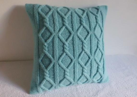 Inspirational Cable Knit Pillow Cover Aqua Turquoise Knit Throw Pillow Cable Knit Throw Pillow Of Great 48 Ideas Cable Knit Throw Pillow