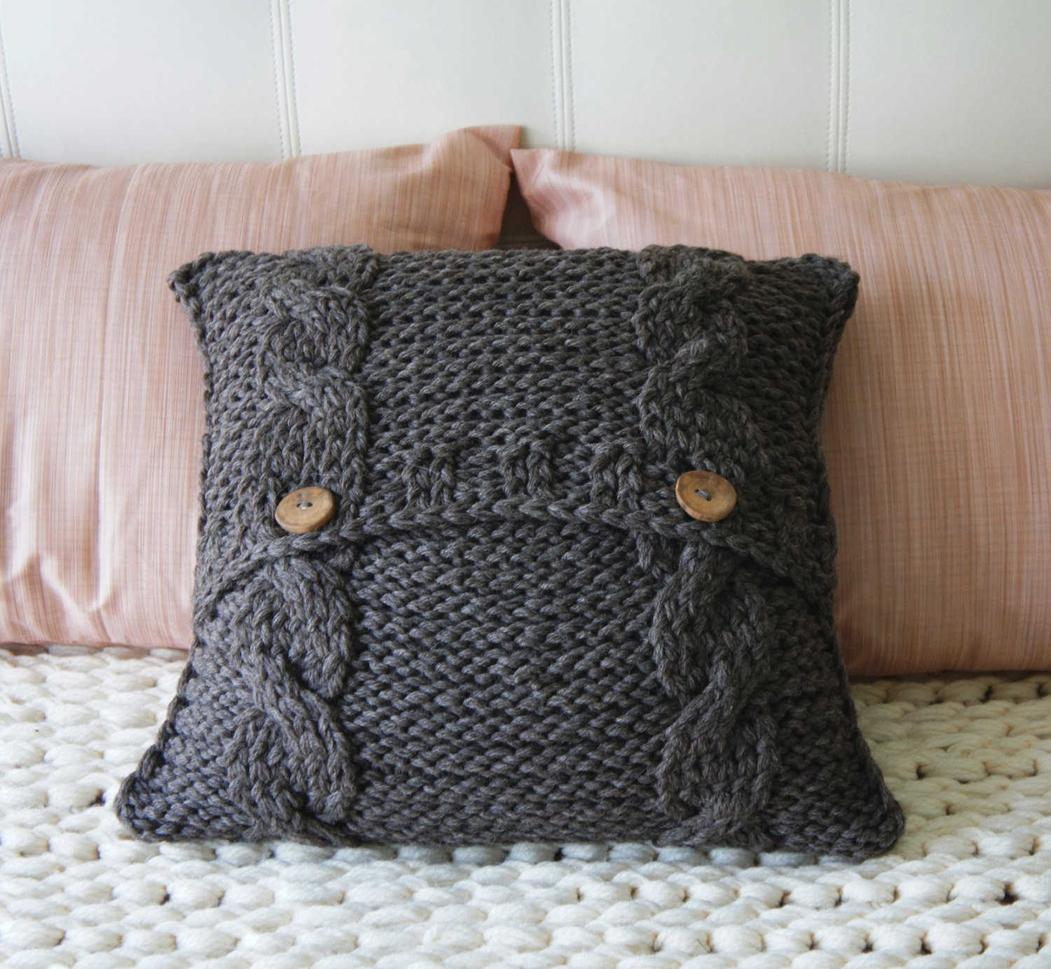 Inspirational Cable Knit Pillow Cover Pillow Cover Decorative Pillow Cable Knit Throw Pillow Of Great 48 Ideas Cable Knit Throw Pillow