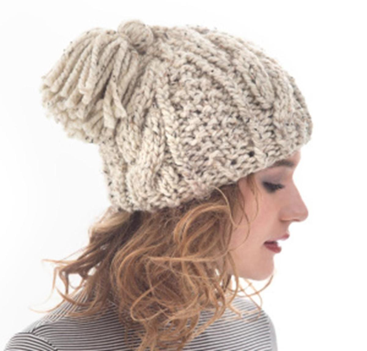 Inspirational Cabled Tassel Hat Knitting Kit by Lion Brand Featuring Lion Yarn Patterns Of Delightful 41 Images Lion Yarn Patterns