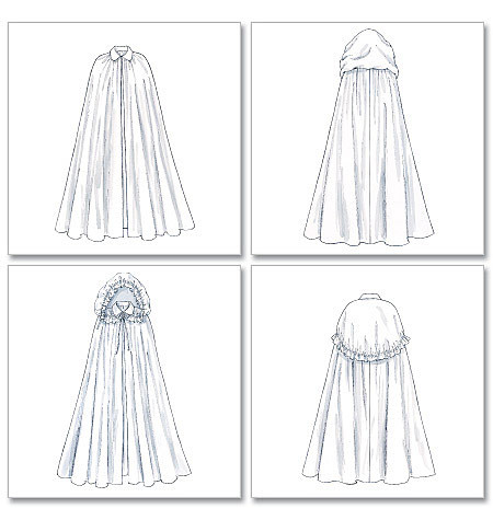 Inspirational Capulet Costume Hooded Cloak Cape Pattern Sm Med Hooded Cape Pattern Of Great 42 Pictures Hooded Cape Pattern