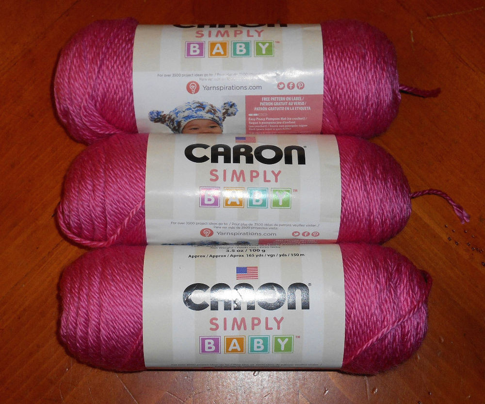 Inspirational Caron Simply soft Baby Yarn Lot 3 Skeins My Princess Simply soft Yarn Colors Of Contemporary 41 Pictures Simply soft Yarn Colors