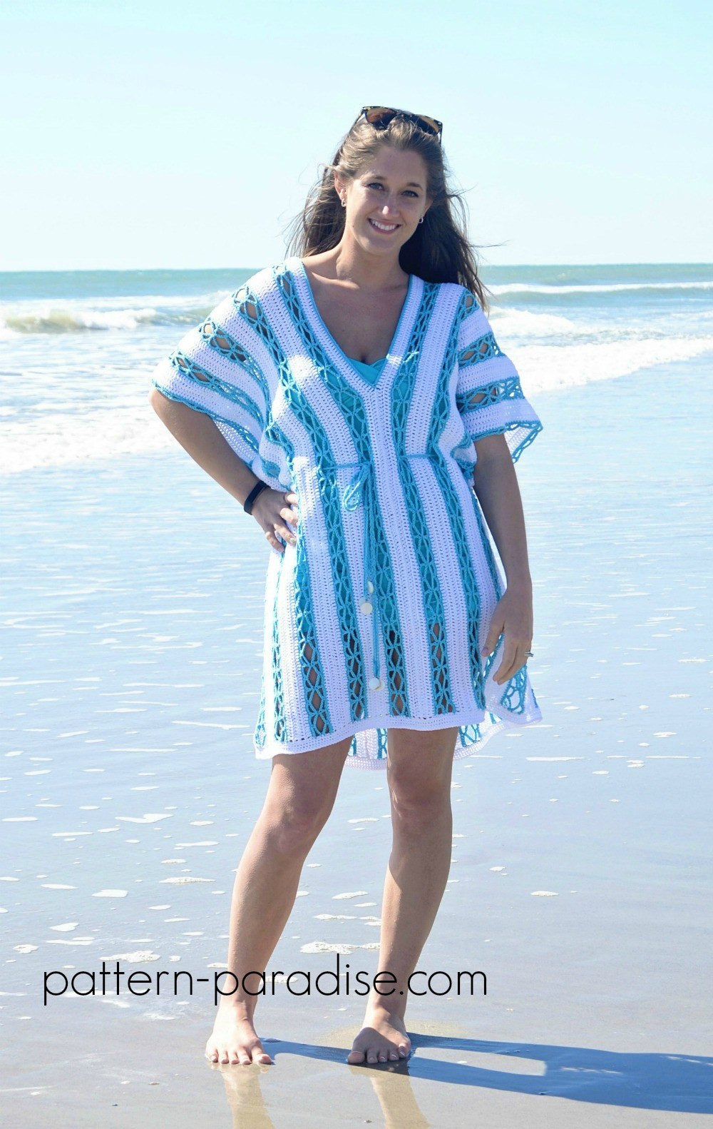 Inspirational Celebratemomcal – Beach Day Cover Up Tunic Crochet Beach Cover Ups Patterns Of Beautiful 40 Models Crochet Beach Cover Ups Patterns