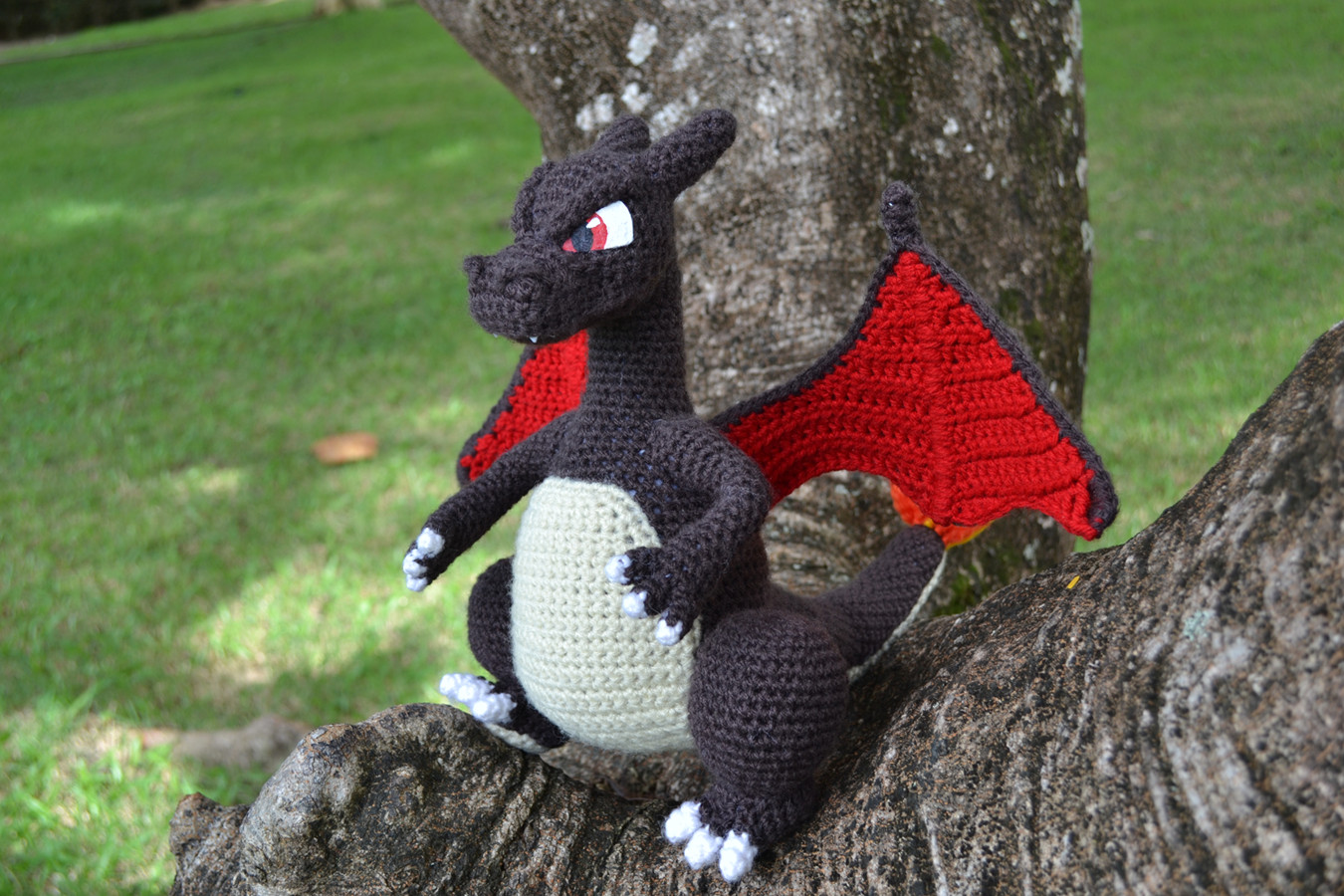 Inspirational Charizard Pattern Crochet Dragon Pattern Of Brilliant 50 Pictures Crochet Dragon Pattern