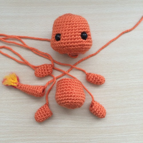 Inspirational Charmander Amigurumi Pattern 53stitches Inline Crochet Hook Of Amazing 46 Pics Inline Crochet Hook