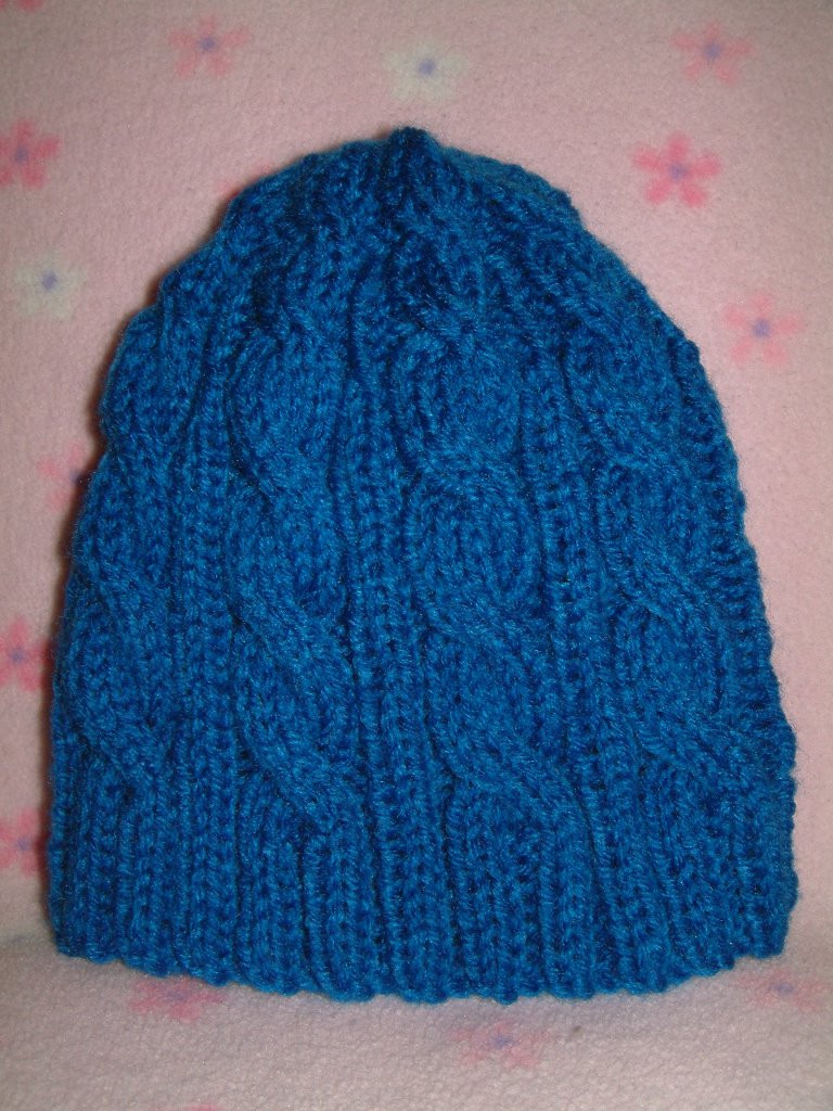 Inspirational Chemo Hat 8 Pleted 3am Blue Cable Hat Smariek Knits Cable Hat Of Superb 40 Pictures Cable Hat