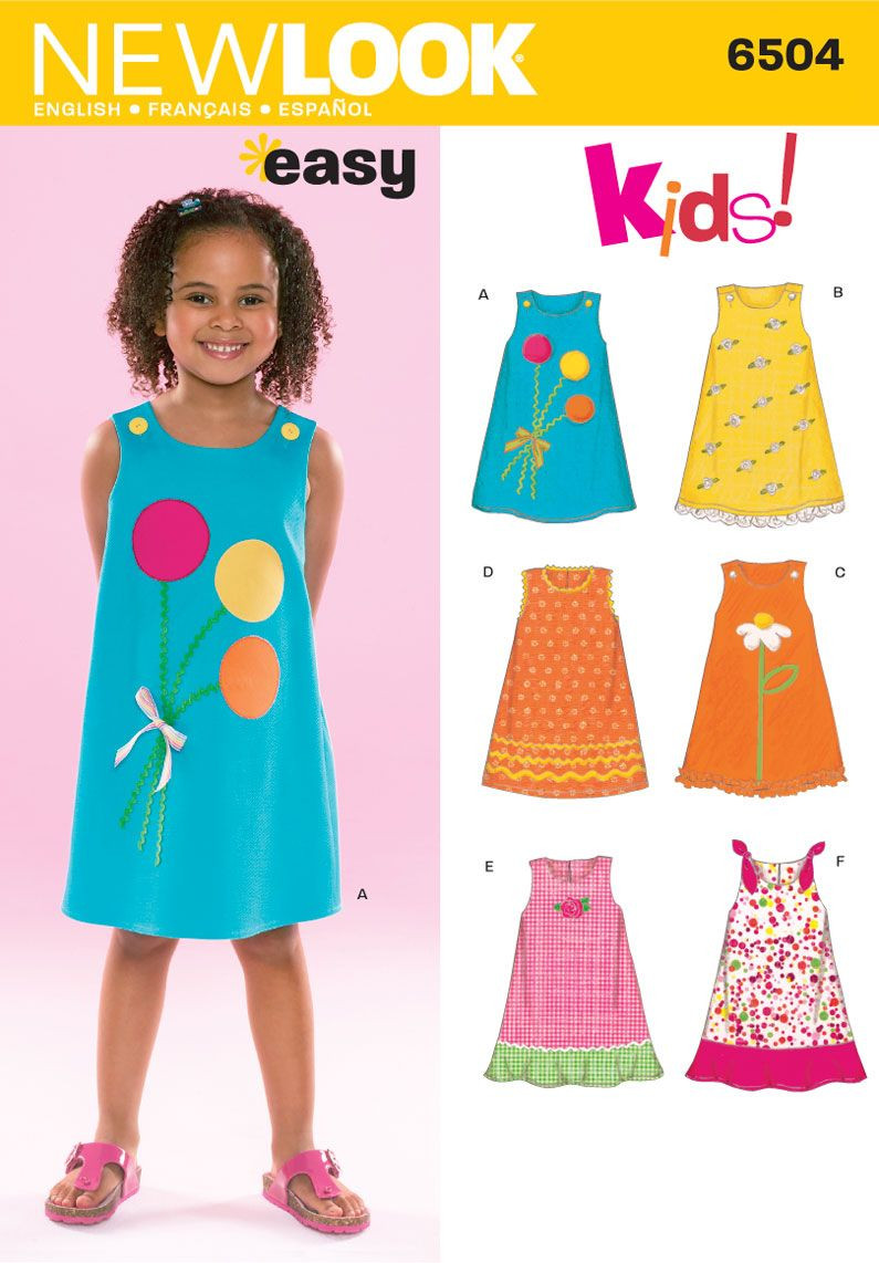Inspirational Child Dress Sewing Pattern 6504 New Look toddler Clothing Patterns Of Wonderful 49 Pictures toddler Clothing Patterns