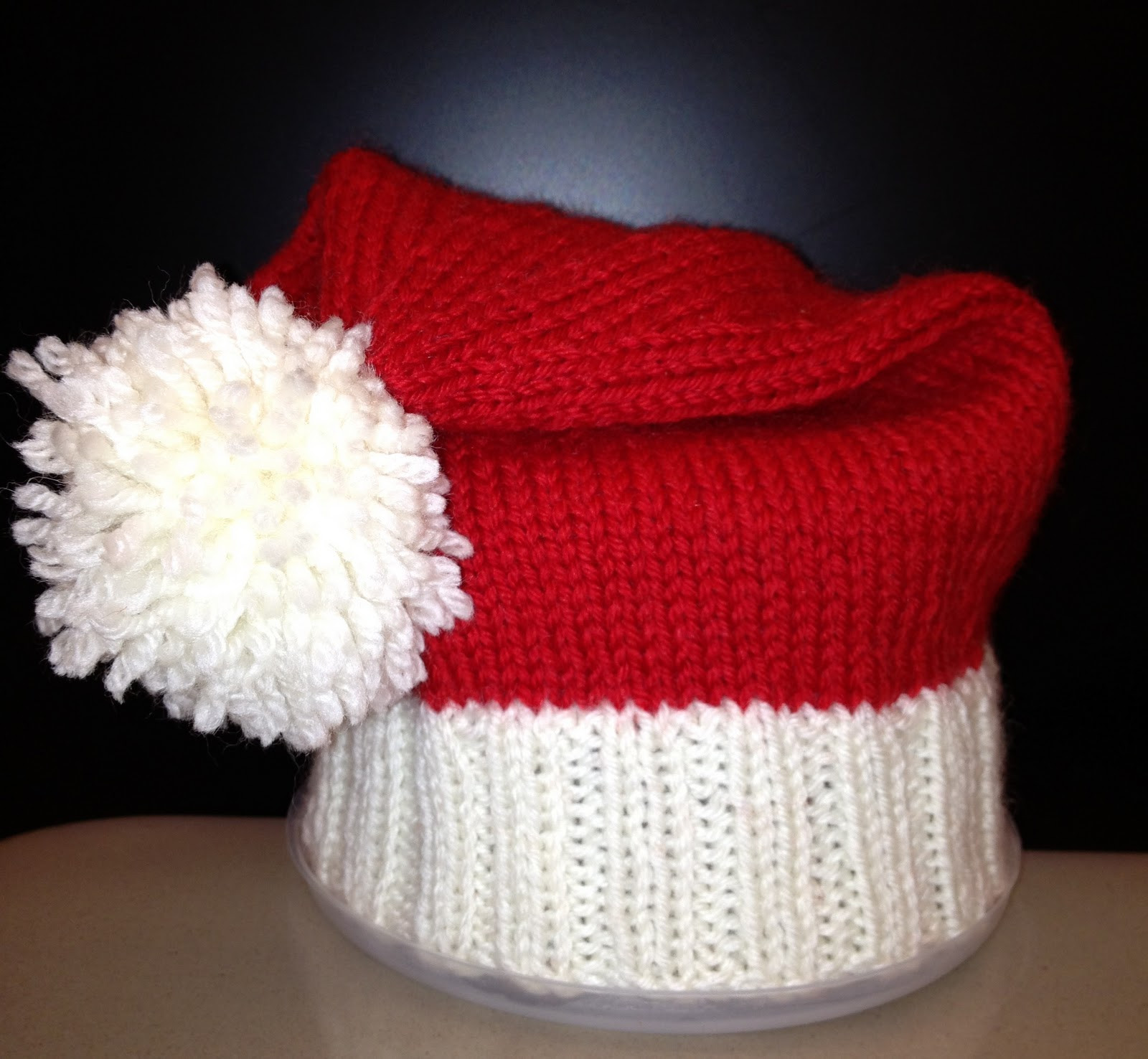 Inspirational Christinapurls Baby Santa Hat Pattern Santa Hat Pattern Of Awesome Items Similar to Knitting Pattern Santa Christmas Hat or Santa Hat Pattern