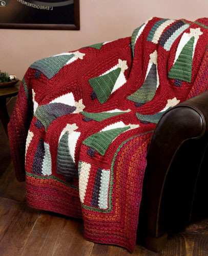 Christmas in July – more Christmas Afghans to Crochet