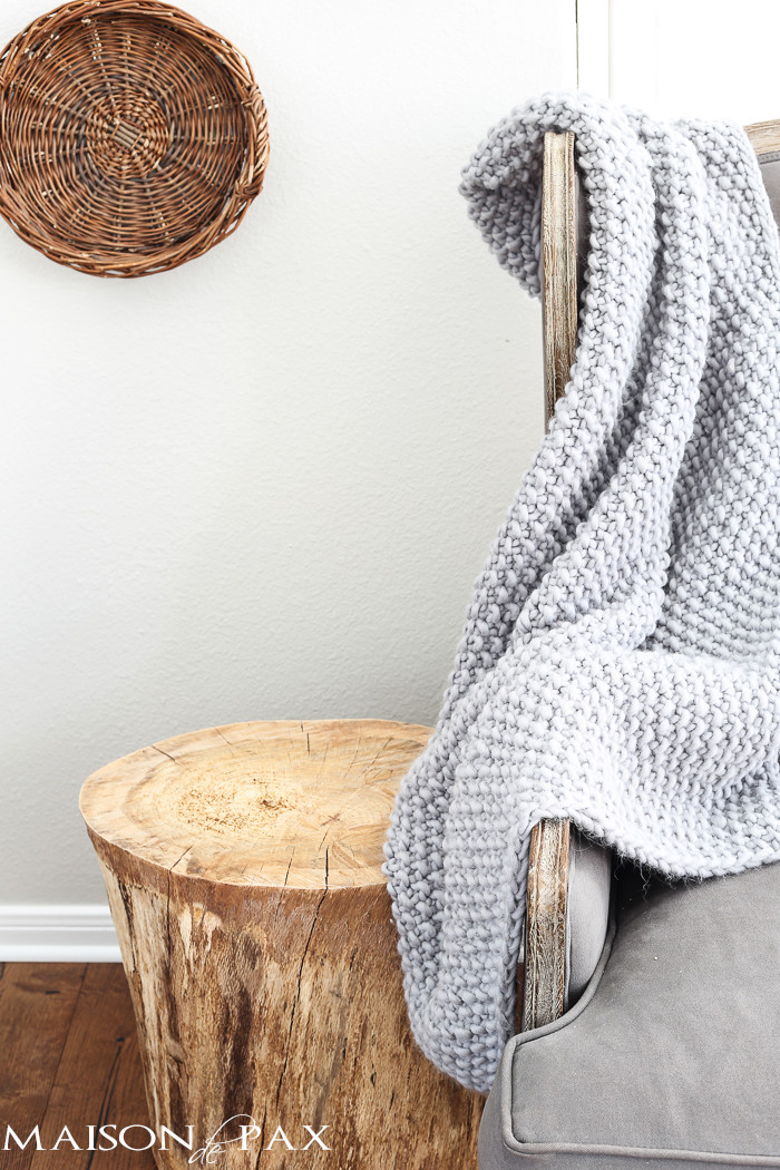 Inspirational Chunky Gray Knit Blanket Maison De Pax Chunky Knit Of Incredible 50 Pictures Chunky Knit