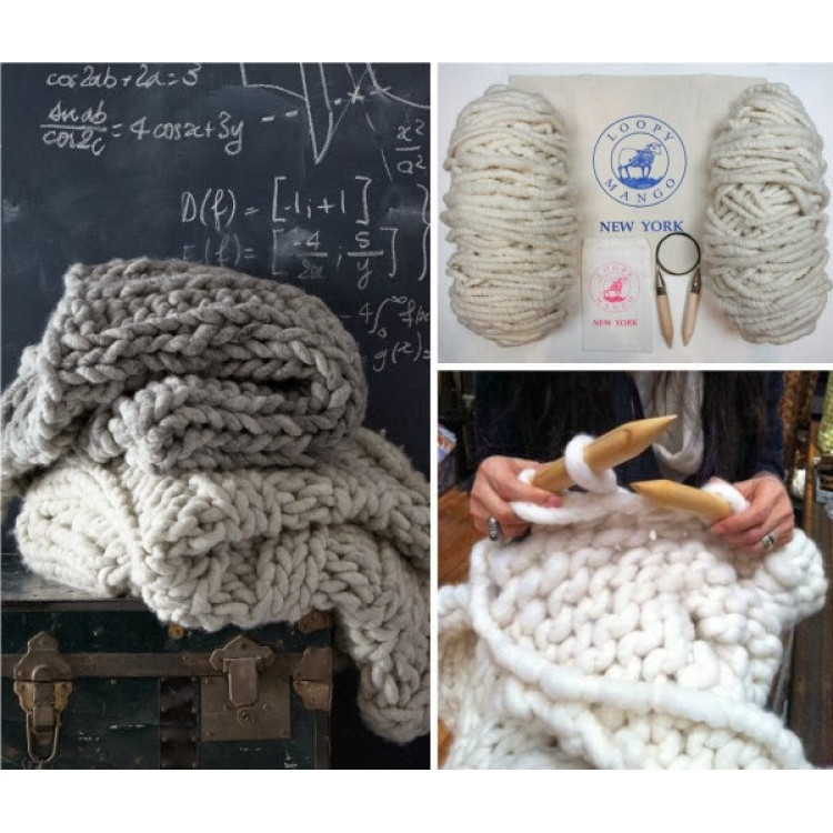 Inspirational Chunky Knit Throw Do It Yourself Kit Chunky Knit Blanket Kit Of Amazing 46 Images Chunky Knit Blanket Kit