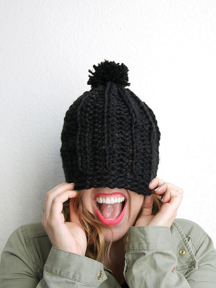 Inspirational Chunky Ribbed Slouch Hat – Free Crochet Pattern Chunky Crochet Beanie Pattern Of Attractive 42 Pics Chunky Crochet Beanie Pattern