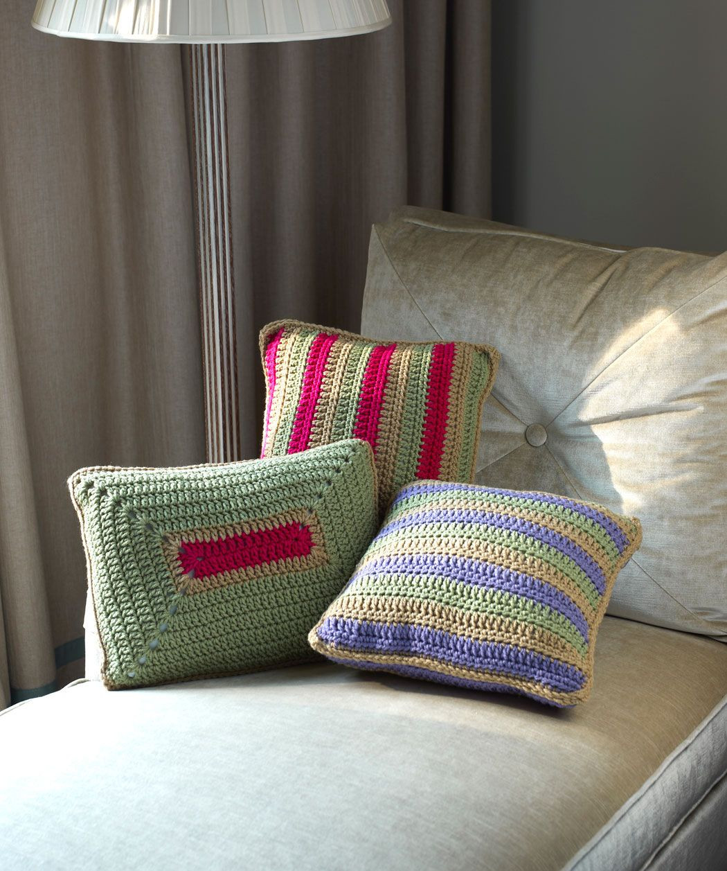 Inspirational Colorful Throw Pillows Free Crochet Pattern From Red Heart Crochet Throw Pillow Of Contemporary 41 Pics Crochet Throw Pillow