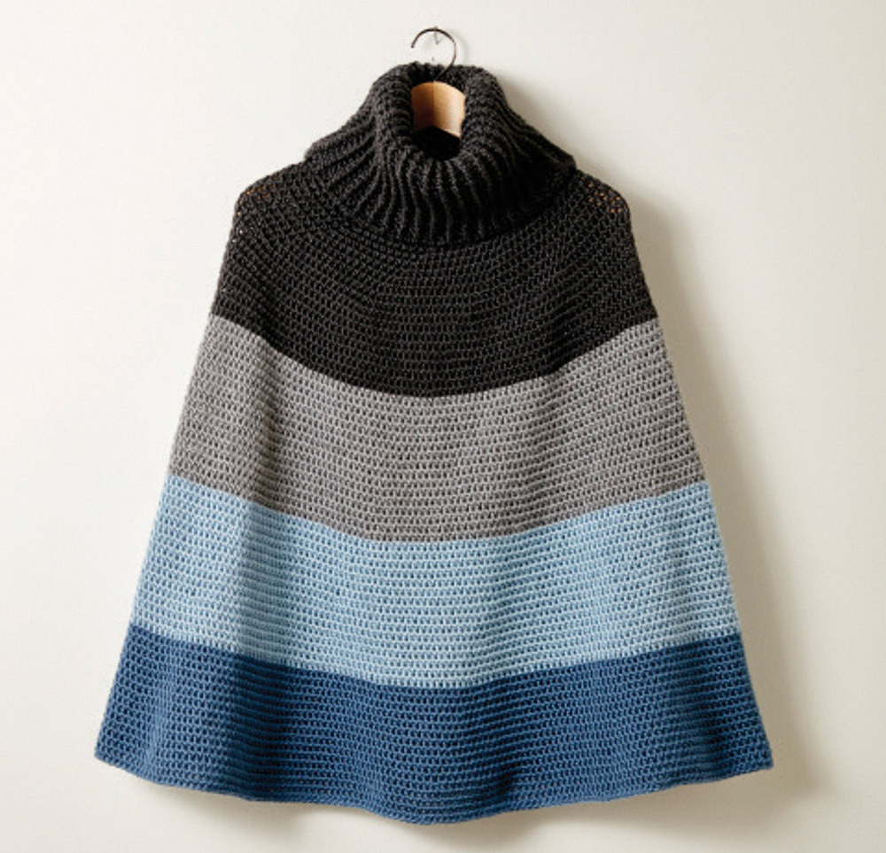 Inspirational Cozy Cowl Cape In Caron Simply soft and Simply soft Crochet Cape Pattern Of Wonderful 49 Models Crochet Cape Pattern