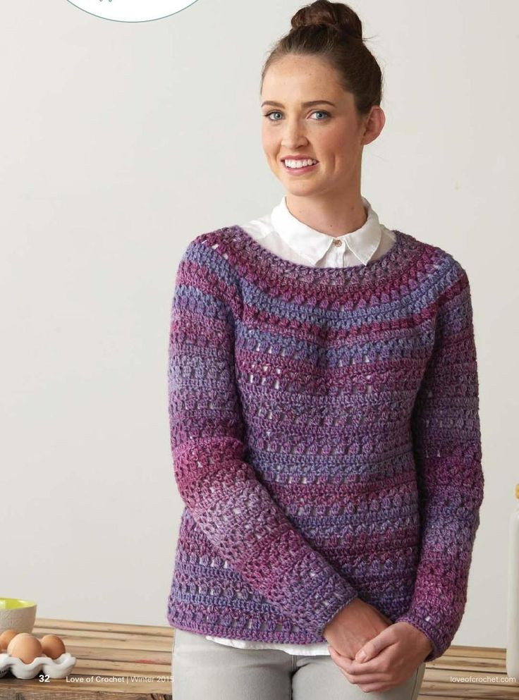 Inspirational Cozy Crochet Pullover ⋆ Crochet Kingdom Crochet Pullover Of Top 47 Images Crochet Pullover