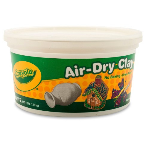 Inspirational Crayola Air Dry Clay 2 5lbs White Tar Colored Air Dry Clay Of Amazing 47 Pictures Colored Air Dry Clay