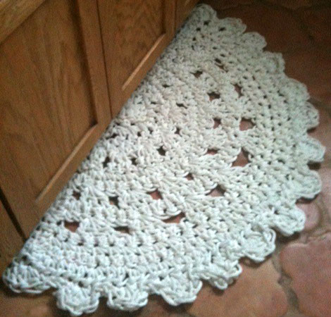 Inspirational Crochet A Doily Rug – Ly New Crochet Patterns Free Crochet Rug Patterns Of Delightful 48 Pics Free Crochet Rug Patterns