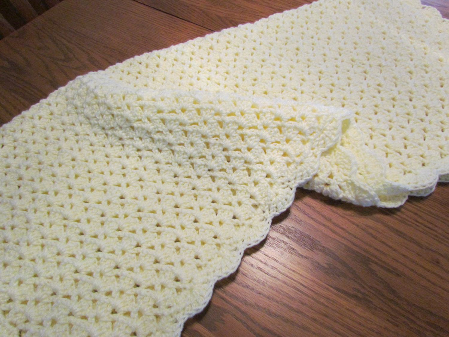 Inspirational Crochet Baby Blanket Shell Stitch Crochet Crib Size Afghan Shell Baby Blanket Of Superb 42 Images Shell Baby Blanket