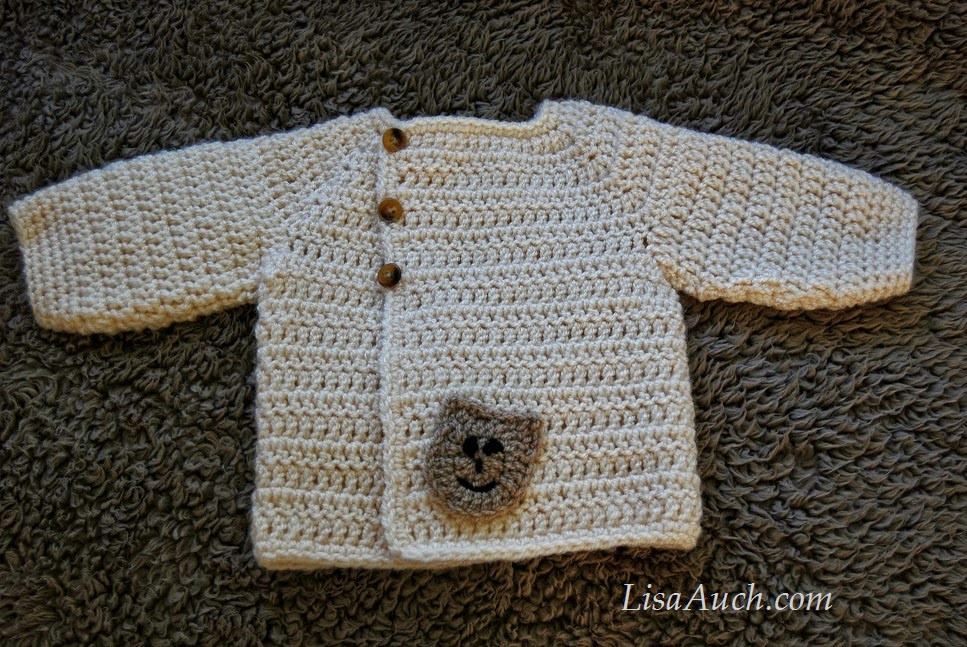 Inspirational Crochet Baby Boy Cardigan Pattern with Hood Easy Hooded Crochet Baby Sweater for Beginners Of Wonderful 41 Pictures Crochet Baby Sweater for Beginners