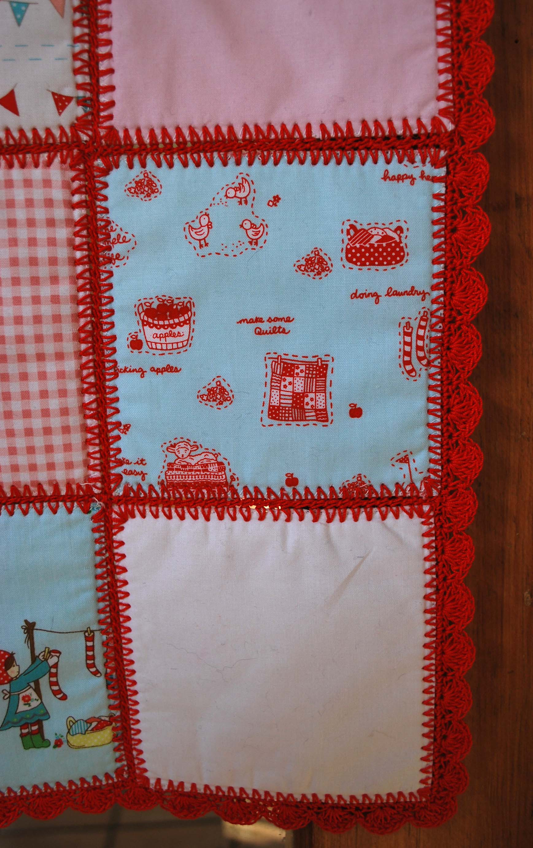 Crochet Baby Patchwork Quilt – The Piper s Girls