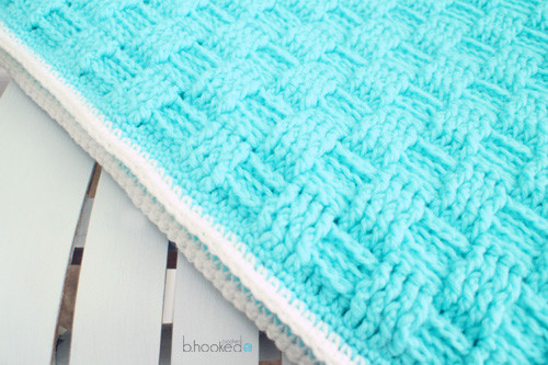 Inspirational Crochet Basket Weave Baby Blanket B Hooked Crochet Basket Weave Crochet Baby Blanket Of Brilliant 46 Photos Basket Weave Crochet Baby Blanket