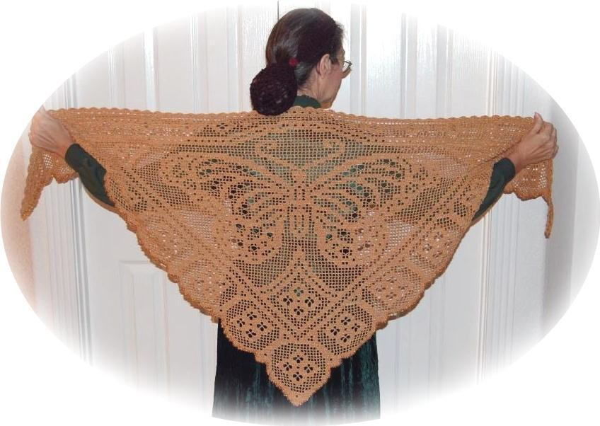 Inspirational Crochet butterfly Pattern Cake Ideas and Designs Crochet butterfly Shawl Of Great 41 Photos Crochet butterfly Shawl