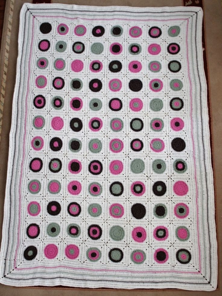 Inspirational Crochet Circles In Squares Crochet Circle Blanket Of Innovative 46 Models Crochet Circle Blanket
