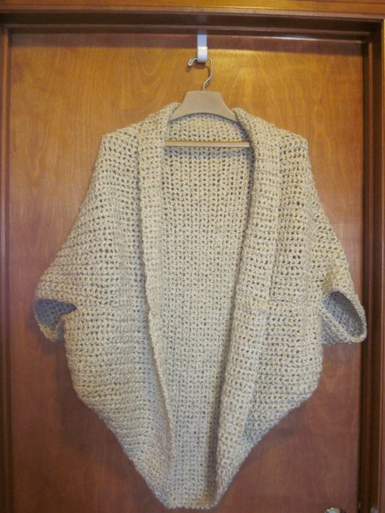 Crochet Cocoon Shrug Pattern Lots Ideas