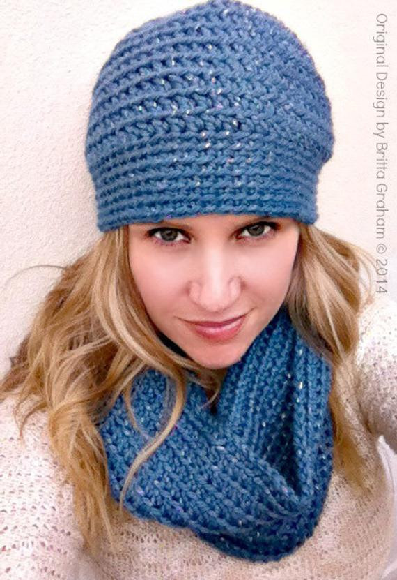 Inspirational Crochet Cowl and Hat Pattern for Women Using Chunky Yarn Chunky Yarn Crochet Hat Pattern Of Lovely 50 Models Chunky Yarn Crochet Hat Pattern