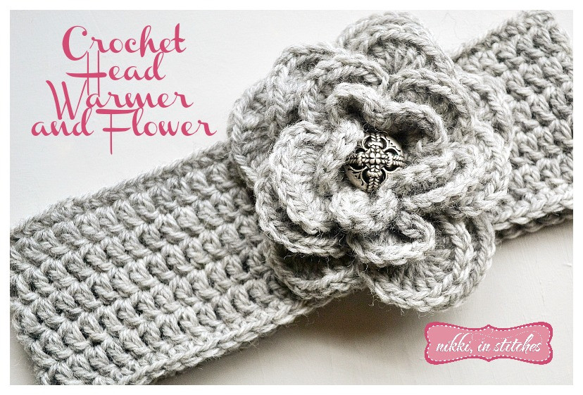 Inspirational Crochet Flower and Head Warmer Free Pattern Crochet Head Warmer Of Fresh 39 Photos Crochet Head Warmer
