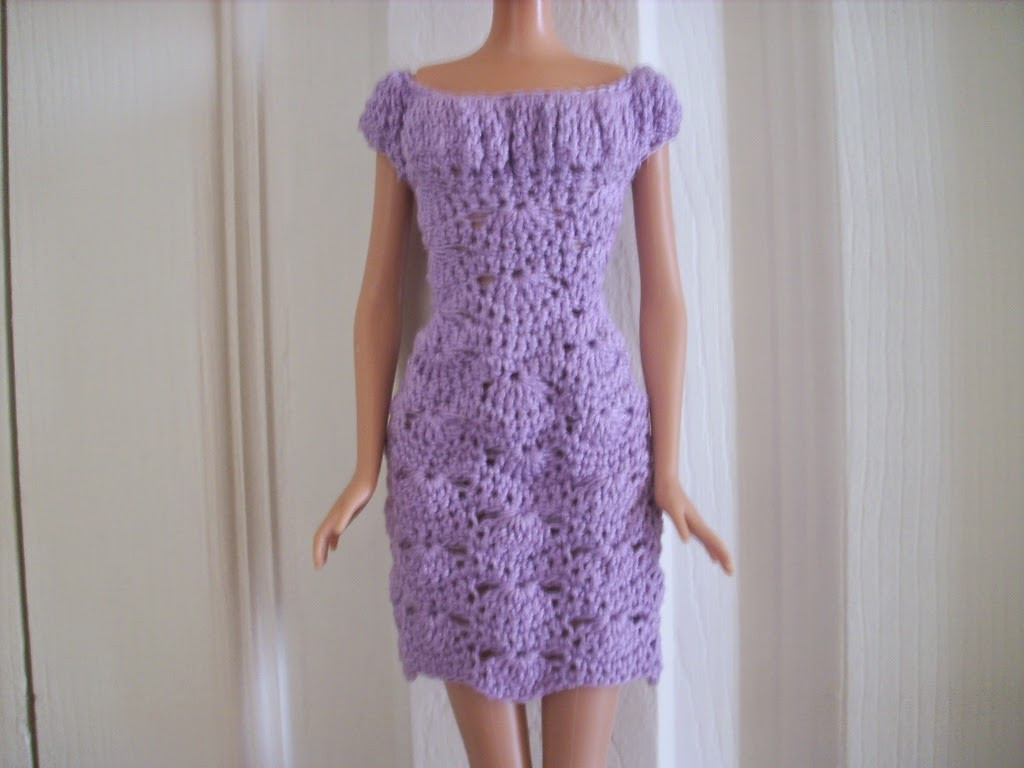 Inspirational Crochet for Barbie the Belly button Body Type Lilac Barbie Doll Patterns Of Superb 40 Pics Barbie Doll Patterns
